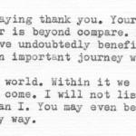 Gentlemen of Chance Spiritual Bureaucracy Letter Excerpt